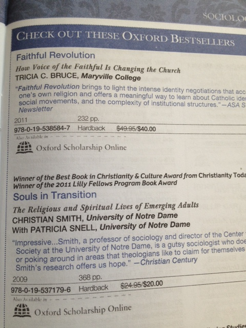 Faithful Revolution (Oxford Bestseller)