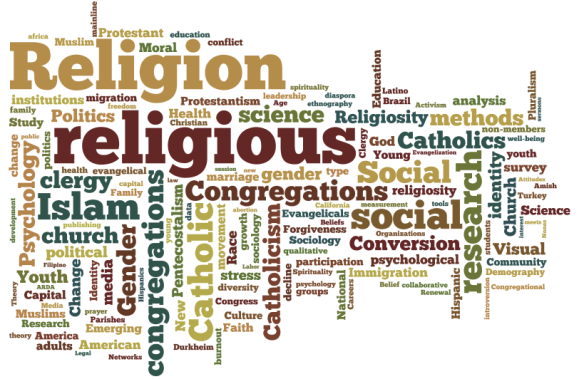 Visualizing New Research in Religion